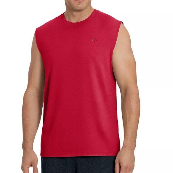 28373086 Champion Shirts | Mens Classic Jersey Muscle Tshirt Xl | Poshmark